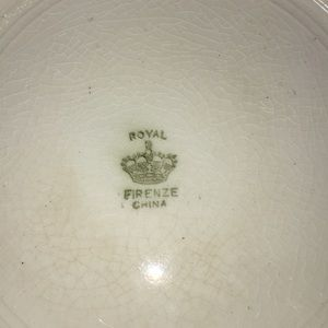 Dining - Antique serving Bowl